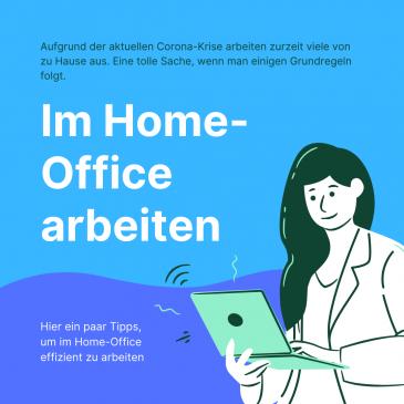 Im Home-Office effizient arbeiten